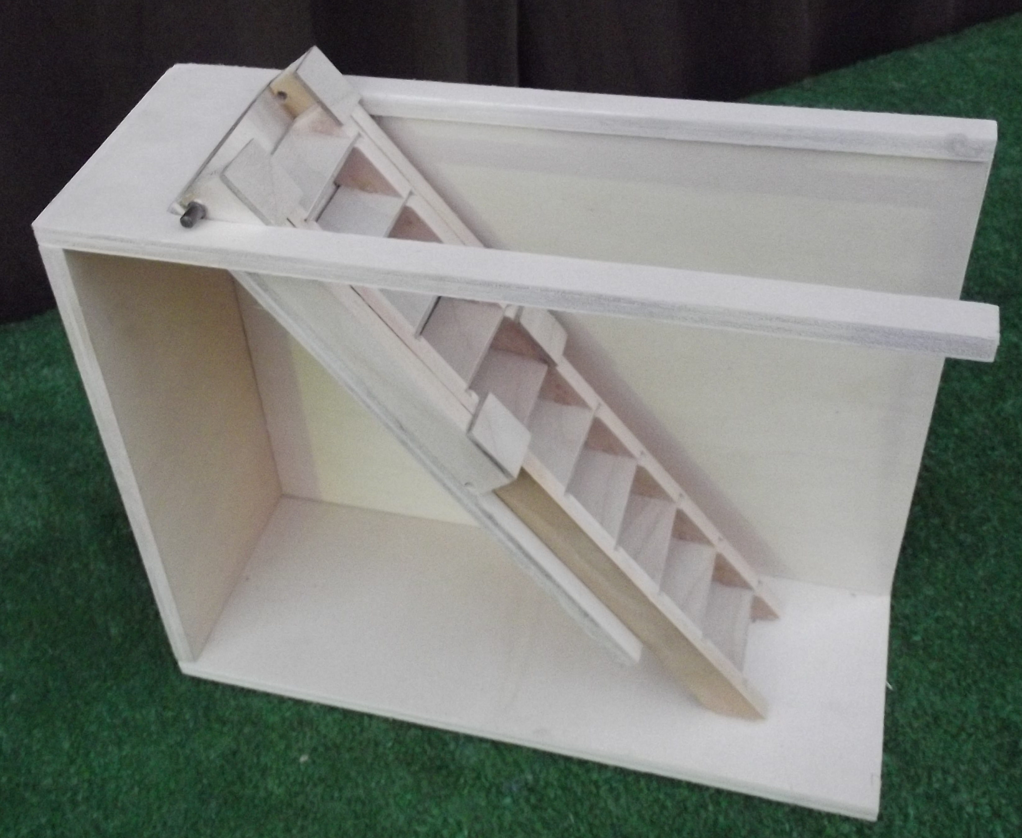 Size 12u2033 L X 4 1/2u2033 D X 9u2032 0u2033/10u2032 0u2033 H. These Functional Pull Down Attic  Stairs ...